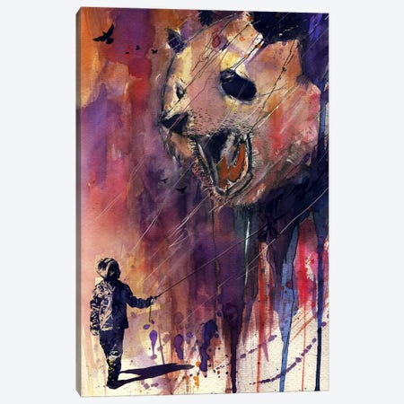 Out To Play Canvas Print #NID52} by Nicebleed Canvas Art Print