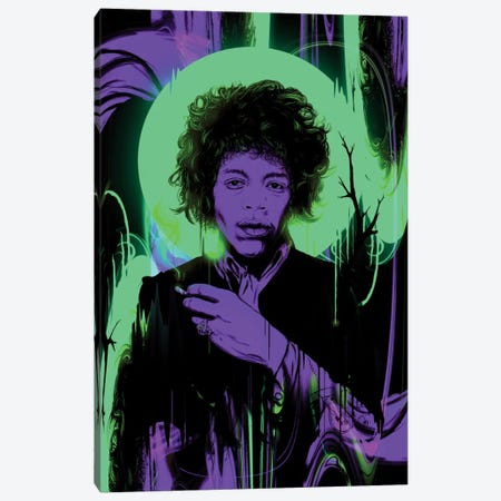 Purple Haze Canvas Print #NID55} by Nicebleed Canvas Artwork