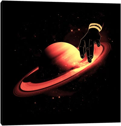 Saturntable Canvas Print #NID58