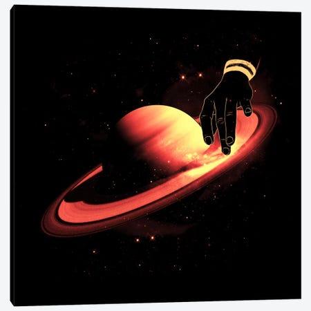 Saturntable Canvas Print #NID58} by Nicebleed Canvas Art Print