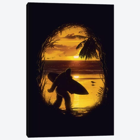 Secret Spot Canvas Print #NID59} by Nicebleed Art Print