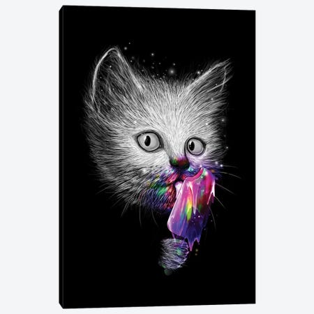 Slurp! Canvas Print #NID62} by Nicebleed Canvas Art