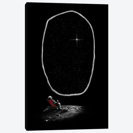 Space Chill Canvas Print #NID64} by Nicebleed Canvas Art Print