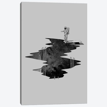 Space Diving Canvas Print #NID65} by Nicebleed Art Print