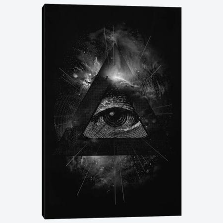 The Eye Canvas Print #NID70} by Nicebleed Art Print