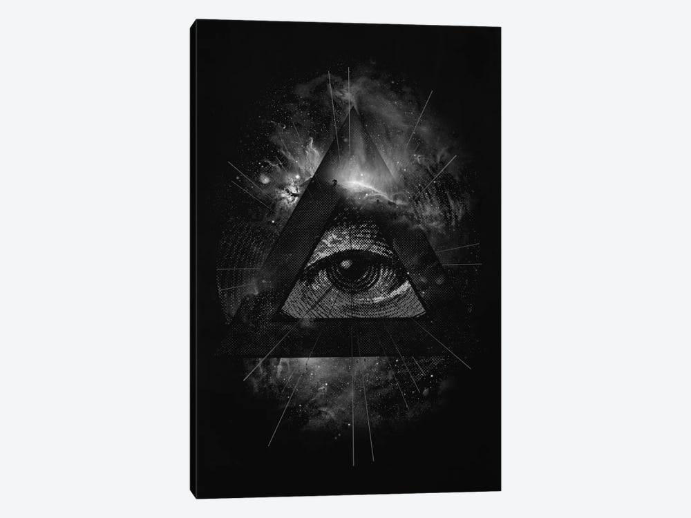 The Eye by Nicebleed 1-piece Canvas Art