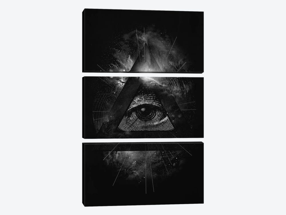 The Eye by Nicebleed 3-piece Canvas Artwork