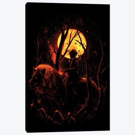 The Hunter Canvas Print #NID71} by Nicebleed Art Print