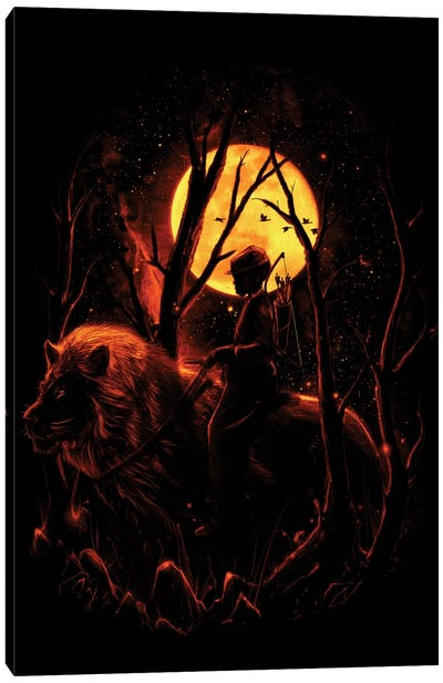 The Hunter Canvas Print #NID71