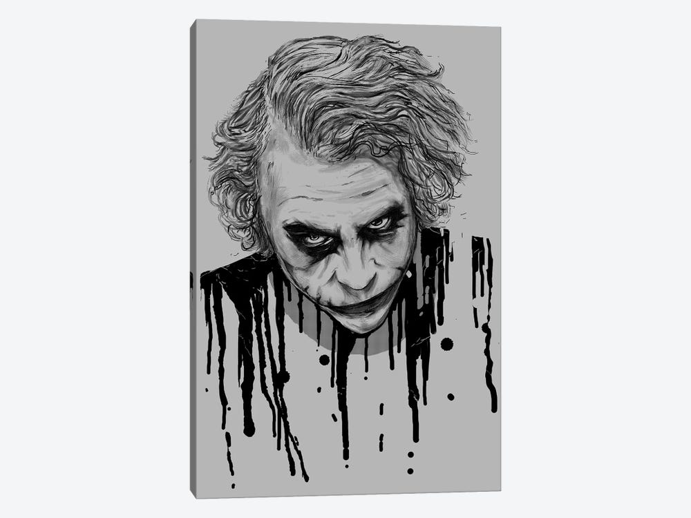 The Joker by Nicebleed 1-piece Canvas Artwork