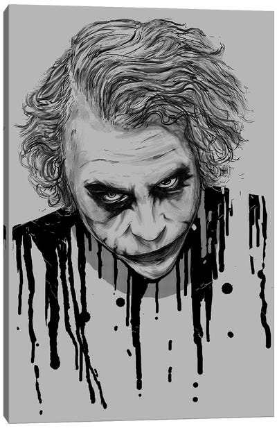 The Joker Canvas Art Print