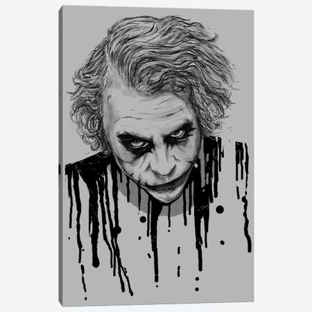 The Joker Canvas Print #NID72} by Nicebleed Canvas Art Print