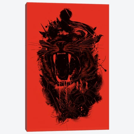 The King Canvas Print #NID74} by Nicebleed Canvas Wall Art