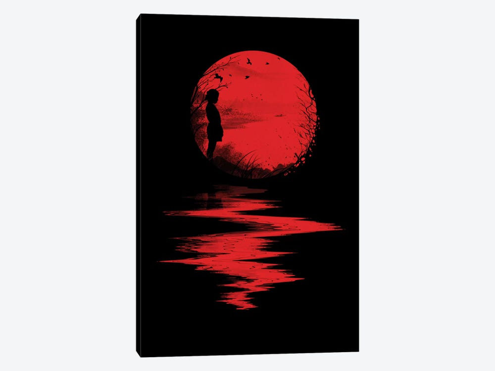 The Land Of The Rising Sun by Nicebleed 1-piece Canvas Art Print