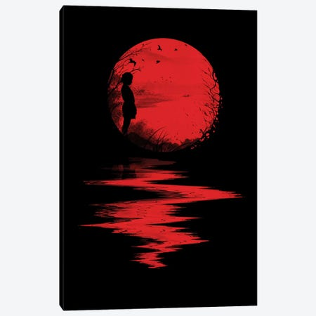 The Land Of The Rising Sun Canvas Print #NID75} by Nicebleed Canvas Artwork