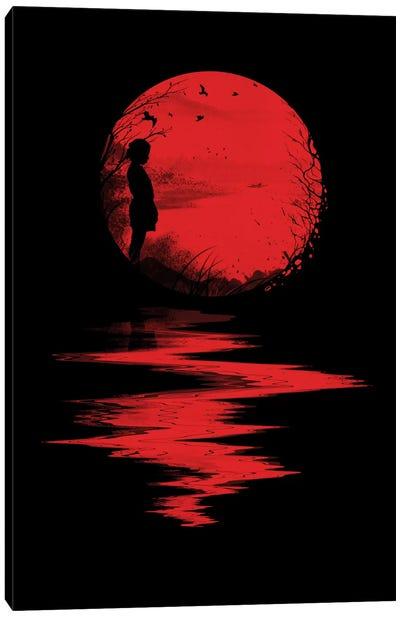 The Land Of The Rising Sun Canvas Art Print
