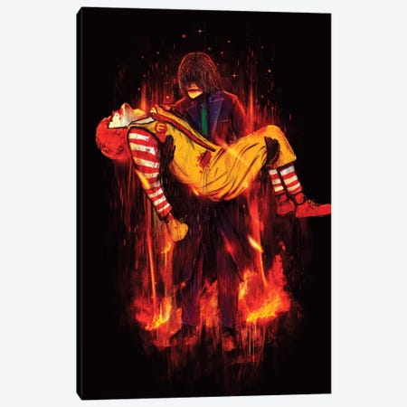 This Is Not A Joke! Canvas Print #NID79} by Nicebleed Canvas Print