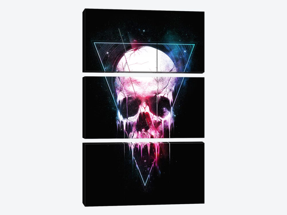 We Are All Made Of Stars II by Nicebleed 3-piece Canvas Print