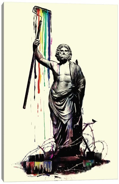 God of Graffiti Canvas Print #NID84