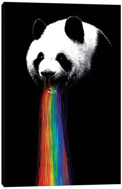 Pandalicious Canvas Art Print