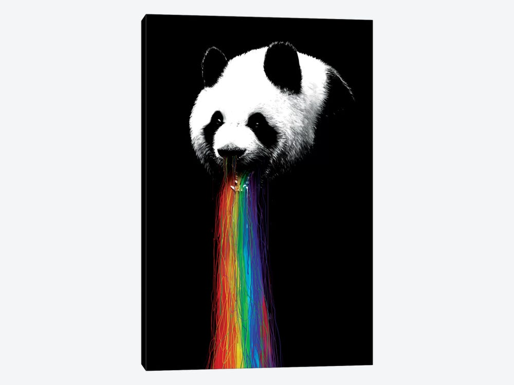 Pandalicious by Nicebleed 1-piece Canvas Wall Art