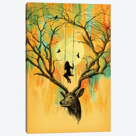 Playmate Canvas Print #NID88} by Nicebleed Canvas Artwork