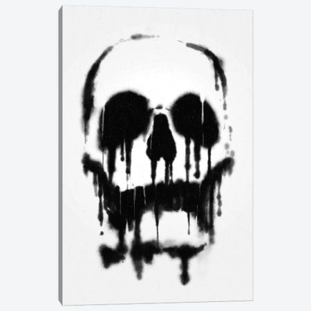 Skull Canvas Print #NID89} by Nicebleed Canvas Wall Art