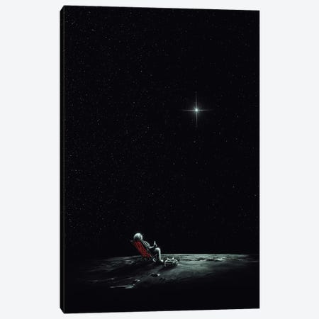 Space Chill II Canvas Print #NID90} by Nicebleed Canvas Art Print