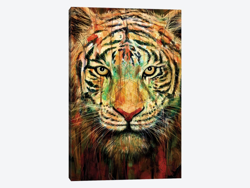 Tiger II by Nicebleed 1-piece Canvas Print