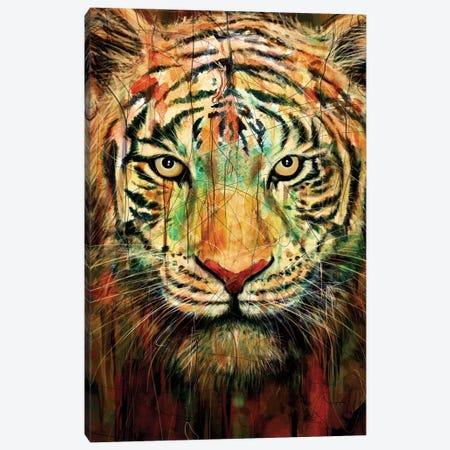 Tiger II Canvas Print #NID93} by Nicebleed Art Print