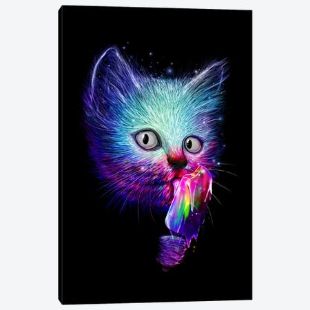 Slurp Canvas Print #NID98} by Nicebleed Canvas Art Print
