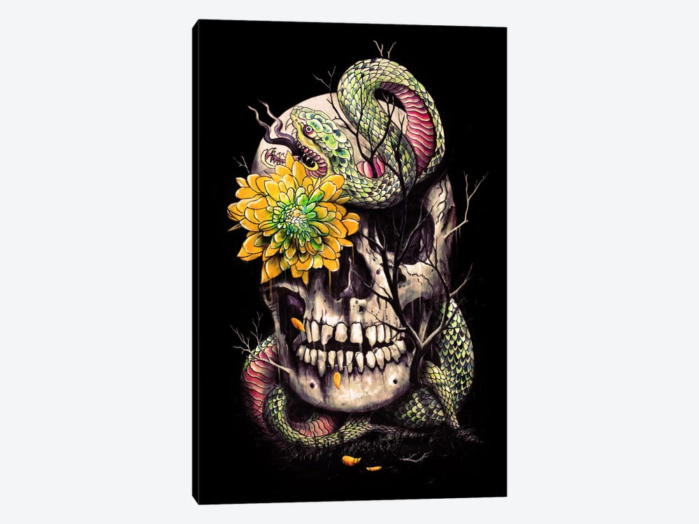 Snake And Skull by Nicebleed 1-piece Art Print