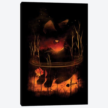 Catfish Canvas Print #NID9} by Nicebleed Canvas Art Print