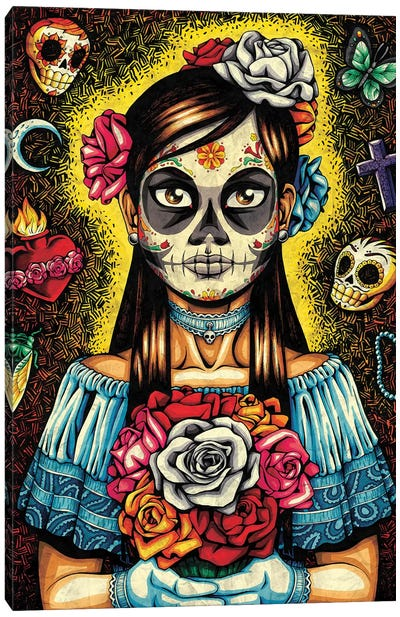Muerta Canvas Art Print