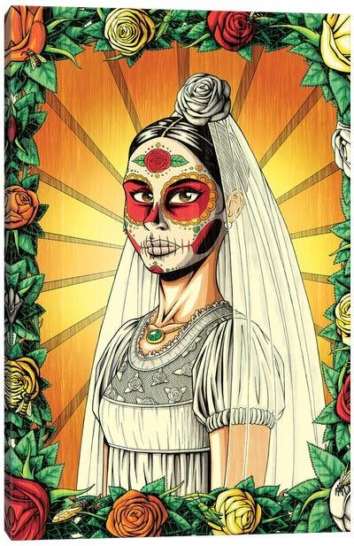 Muerta Bride Canvas Art Print