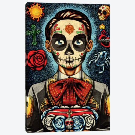 Muerto Canvas Print #NII7} by Nicholas Ivins Canvas Print