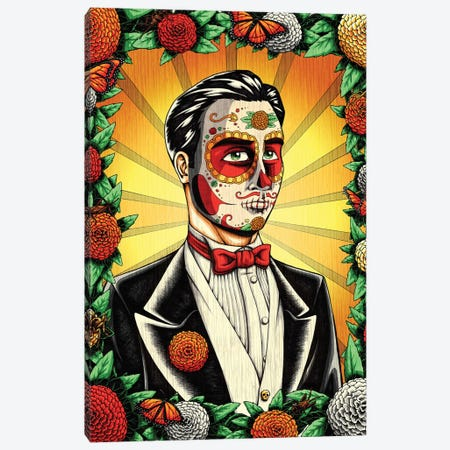 Muerto Groom Canvas Print #NII8} by Nicholas Ivins Canvas Artwork