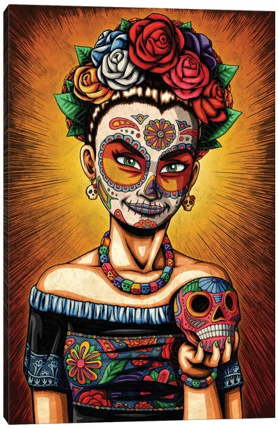 Rita Canvas Art Print