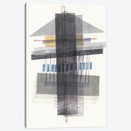 Compass Point III Canvas Print #NIK12} by Nikki Galapon Canvas Art