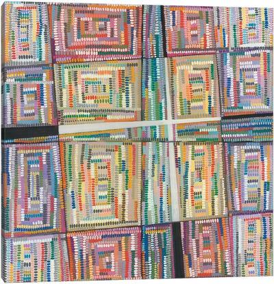 Dot Pattern Canvas Art Print