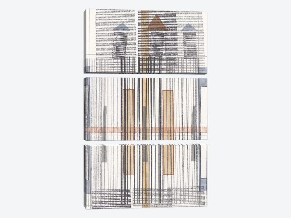 Pinnacle II by Nikki Galapon 3-piece Canvas Print