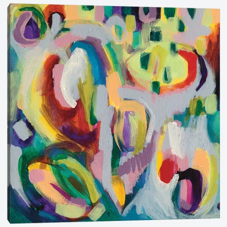 Color Theory Canvas Print #NIK25} by Nikki Galapon Canvas Wall Art