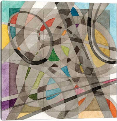 Overpass Canvas Art Print