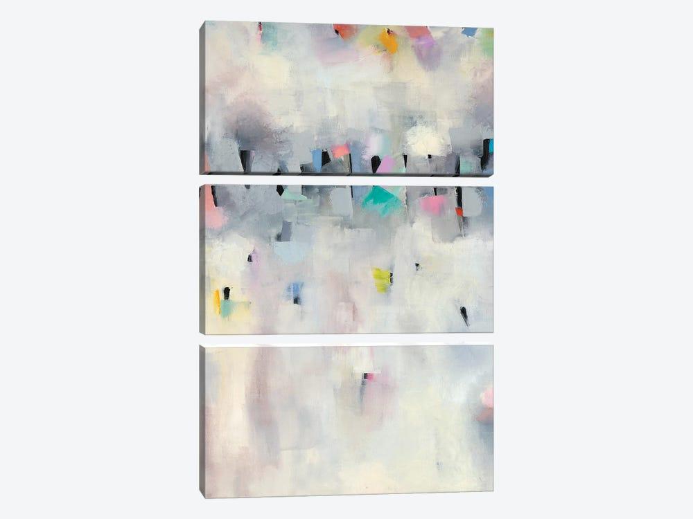 Procession I by Nikki Galapon 3-piece Canvas Art Print