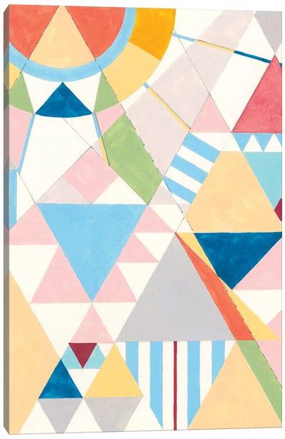 Triangles And Pyramids II Canvas Art Print