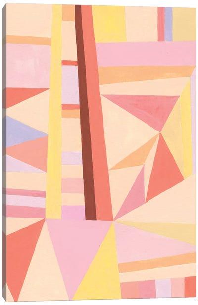 Blush Structure II Canvas Art Print