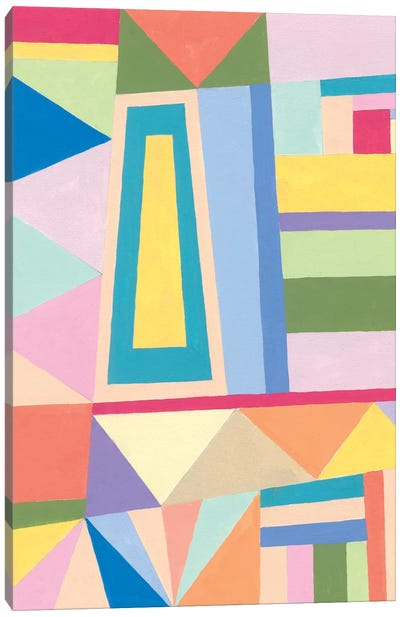 Confetti Structure I Canvas Art Print