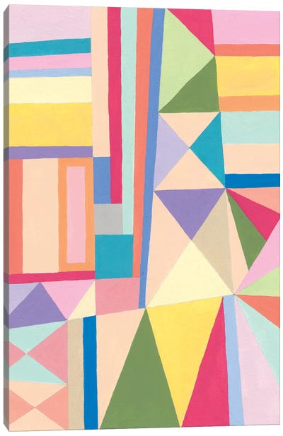 Confetti Structure II Canvas Art Print