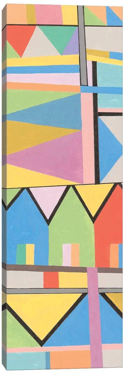 Flag Structure I Canvas Art Print