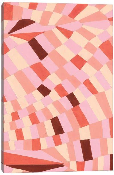 Grid Flow I Canvas Art Print